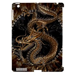 Dragon Pentagram Apple iPad 3/4 Hardshell Case (Compatible with Smart Cover)