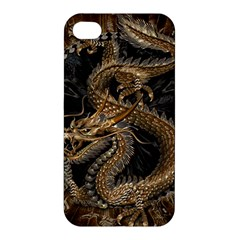 Dragon Pentagram Apple Iphone 4/4s Premium Hardshell Case