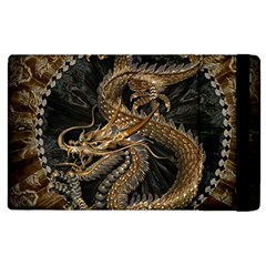 Dragon Pentagram Apple Ipad 2 Flip Case