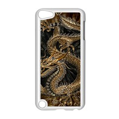 Dragon Pentagram Apple iPod Touch 5 Case (White)