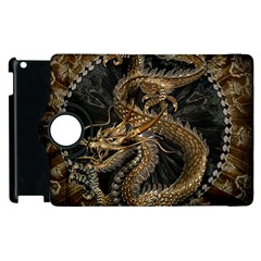 Dragon Pentagram Apple Ipad 2 Flip 360 Case