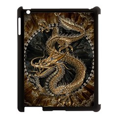Dragon Pentagram Apple iPad 3/4 Case (Black)