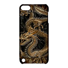 Dragon Pentagram Apple iPod Touch 5 Hardshell Case with Stand