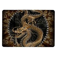 Dragon Pentagram Samsung Galaxy Tab 10 1  P7500 Flip Case