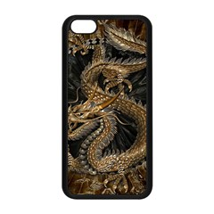 Dragon Pentagram Apple Iphone 5c Seamless Case (black)