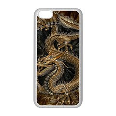 Dragon Pentagram Apple Iphone 5c Seamless Case (white)