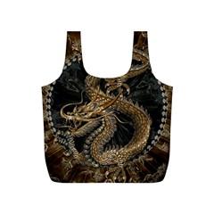 Dragon Pentagram Full Print Recycle Bags (s)