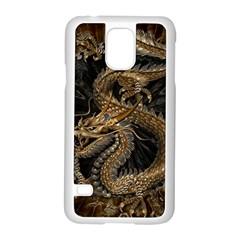 Dragon Pentagram Samsung Galaxy S5 Case (White)
