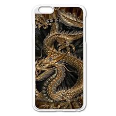 Dragon Pentagram Apple iPhone 6 Plus/6S Plus Enamel White Case