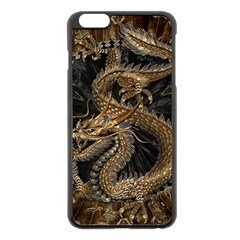 Dragon Pentagram Apple Iphone 6 Plus/6s Plus Black Enamel Case