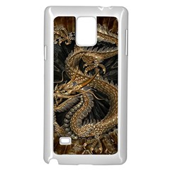 Dragon Pentagram Samsung Galaxy Note 4 Case (white)