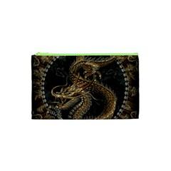 Dragon Pentagram Cosmetic Bag (xs)