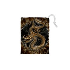Dragon Pentagram Drawstring Pouches (xs)