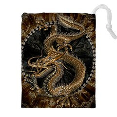 Dragon Pentagram Drawstring Pouches (xxl)