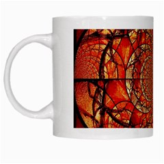Dreamcatcher Stained Glass White Mugs