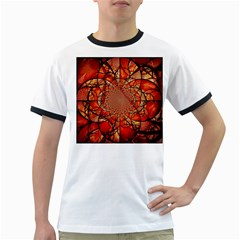 Dreamcatcher Stained Glass Ringer T Shirts