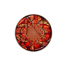 Dreamcatcher Stained Glass Hat Clip Ball Marker