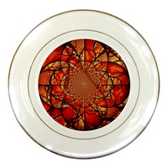Dreamcatcher Stained Glass Porcelain Plates