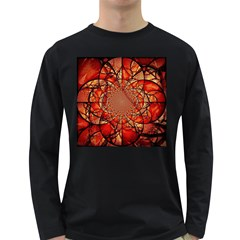 Dreamcatcher Stained Glass Long Sleeve Dark T Shirts