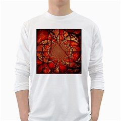 Dreamcatcher Stained Glass White Long Sleeve T Shirts