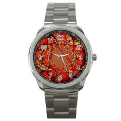 Dreamcatcher Stained Glass Sport Metal Watch