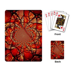 Dreamcatcher Stained Glass Playing Card