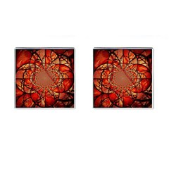 Dreamcatcher Stained Glass Cufflinks (Square)