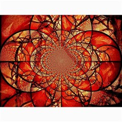 Dreamcatcher Stained Glass Canvas 12  x 16