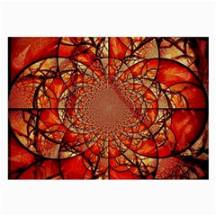 Dreamcatcher Stained Glass Large Glasses Cloth (2 Side)
