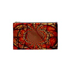 Dreamcatcher Stained Glass Cosmetic Bag (small)