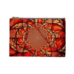 Dreamcatcher Stained Glass Cosmetic Bag (Large)