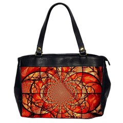 Dreamcatcher Stained Glass Office Handbags (2 Sides)