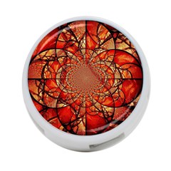 Dreamcatcher Stained Glass 4-Port USB Hub (Two Sides)