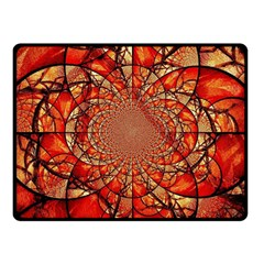 Dreamcatcher Stained Glass Fleece Blanket (small)