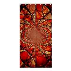Dreamcatcher Stained Glass Shower Curtain 36  X 72  (stall)