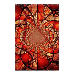 Dreamcatcher Stained Glass Shower Curtain 48  X 72  (small)