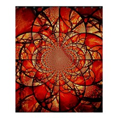 Dreamcatcher Stained Glass Shower Curtain 60  X 72  (medium)