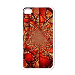 Dreamcatcher Stained Glass Apple Iphone 4 Case (white)