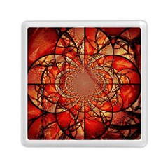 Dreamcatcher Stained Glass Memory Card Reader (square)