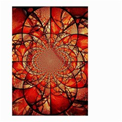 Dreamcatcher Stained Glass Small Garden Flag (two Sides)