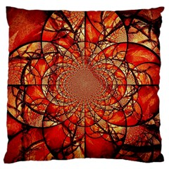 Dreamcatcher Stained Glass Large Cushion Case (one Side)