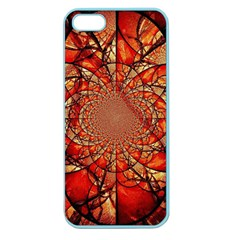 Dreamcatcher Stained Glass Apple Seamless iPhone 5 Case (Color)