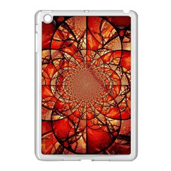 Dreamcatcher Stained Glass Apple Ipad Mini Case (white)