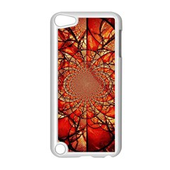 Dreamcatcher Stained Glass Apple Ipod Touch 5 Case (white)