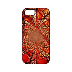 Dreamcatcher Stained Glass Apple Iphone 5 Classic Hardshell Case (pc+silicone)