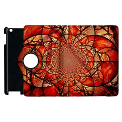 Dreamcatcher Stained Glass Apple Ipad 3/4 Flip 360 Case