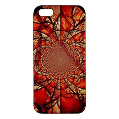 Dreamcatcher Stained Glass Apple Iphone 5 Premium Hardshell Case