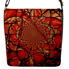 Dreamcatcher Stained Glass Flap Messenger Bag (s)