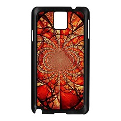 Dreamcatcher Stained Glass Samsung Galaxy Note 3 N9005 Case (black)