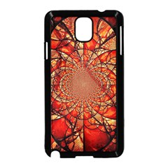 Dreamcatcher Stained Glass Samsung Galaxy Note 3 Neo Hardshell Case (black)